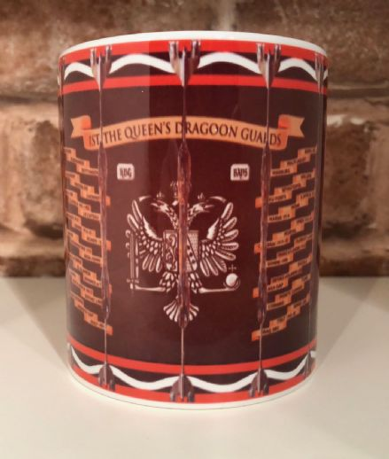 The 1st Queen's Dragoon Guards Drum Mug